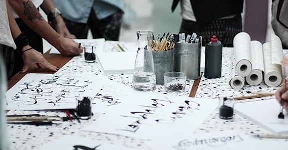 Kalligrafi - Ylva Skarp