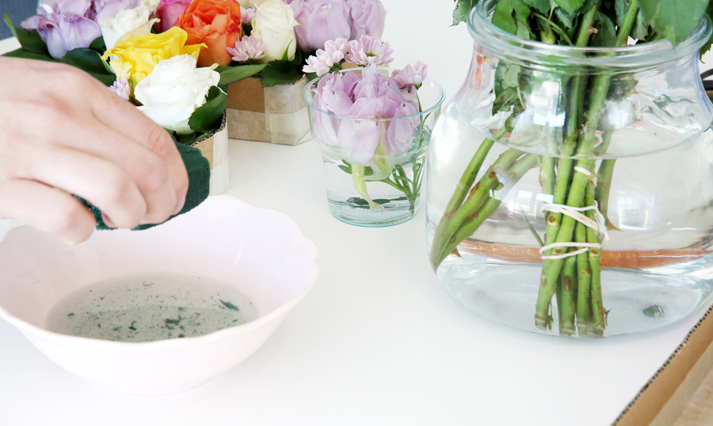 DIY: Blomdekoration - fixaodona.se