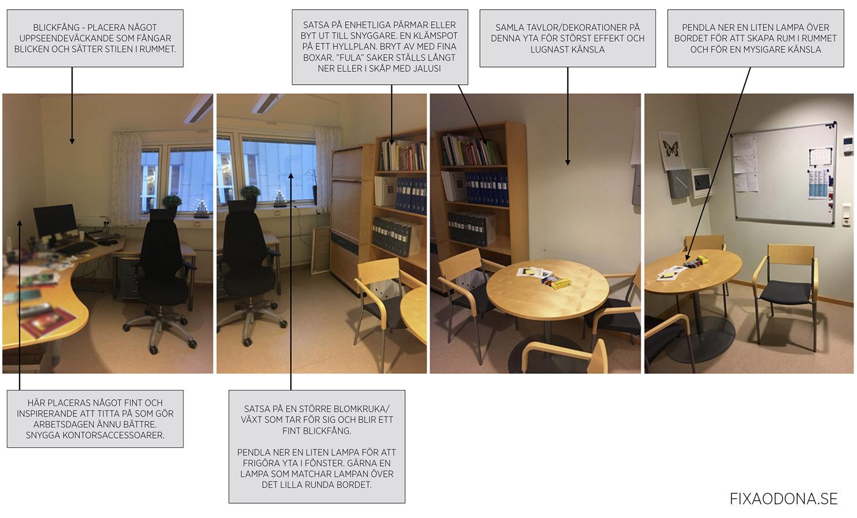 Inred kontoret - tips & trix - fixaodona.se