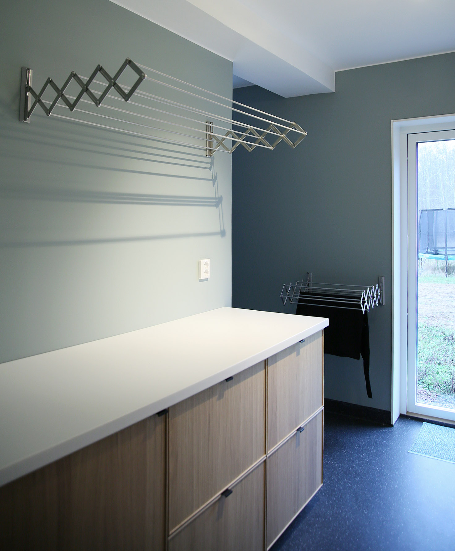 Utdragbar torkställning till tvättstugan - fixaodona.se