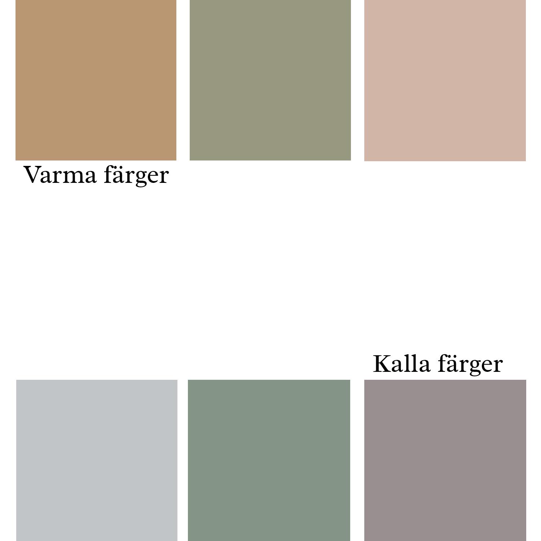 Varma och kalla färger - fixaodona.se