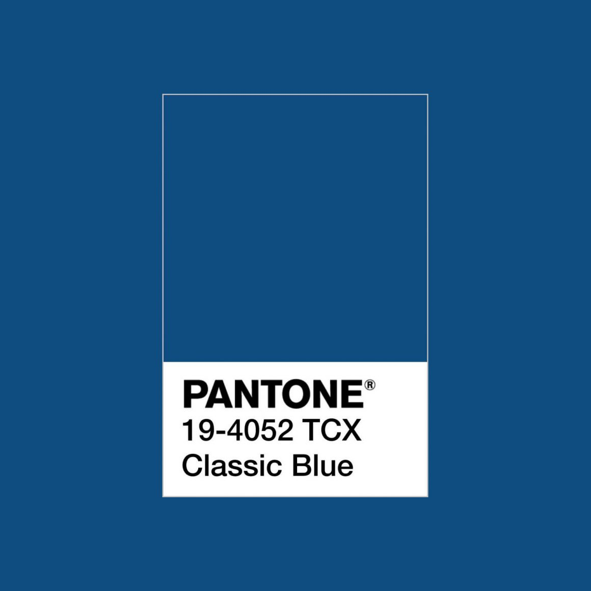 Pantone Colour of the Year 2020 - Classic Blue - fixaodona.se