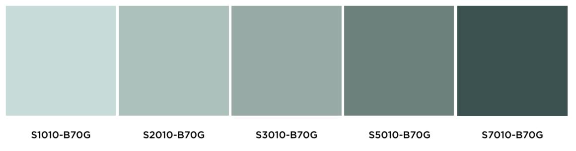 Kulörtonlika färgkombinationer - fixaodona.se