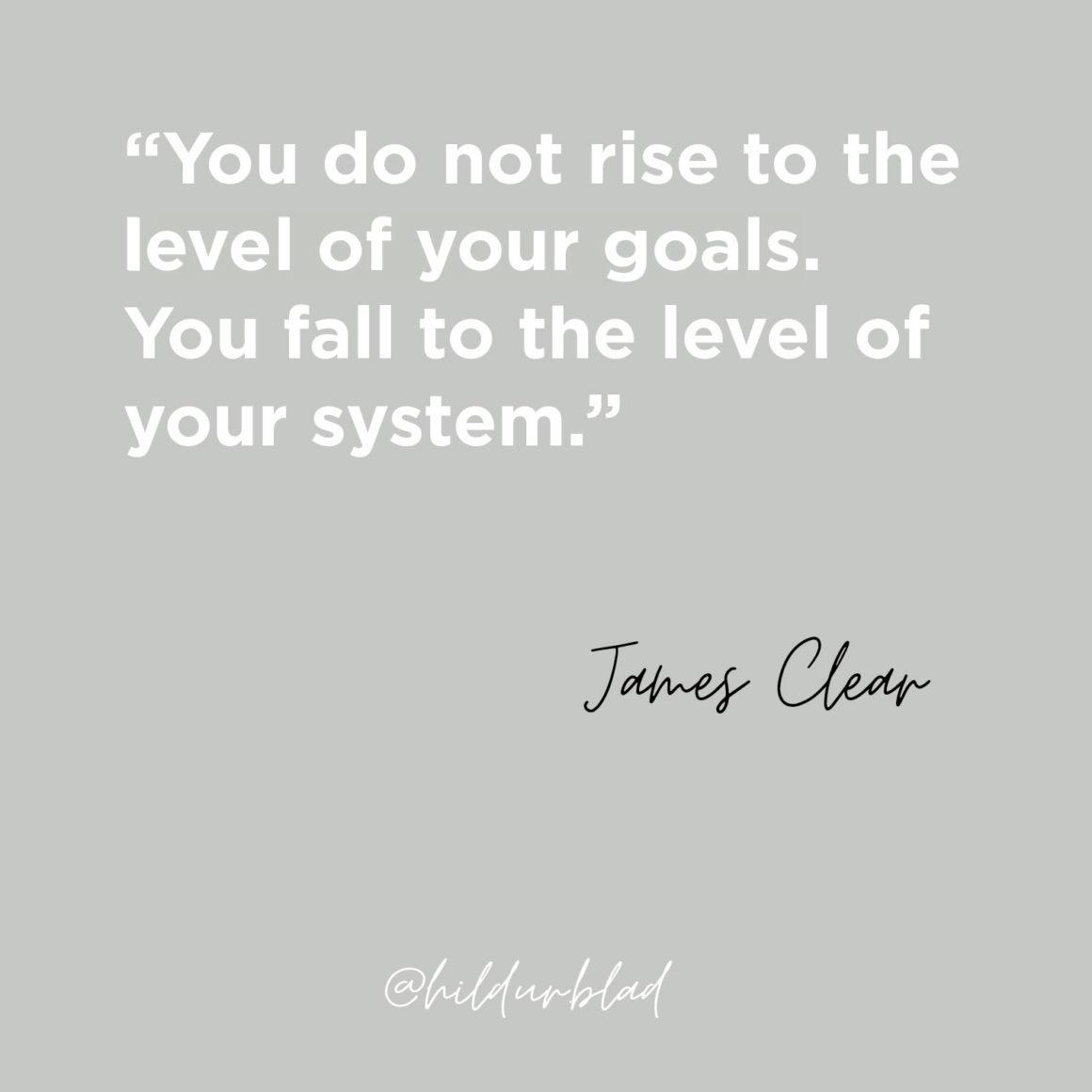 Förändra dina vanor: Atomic Habits av James Clear